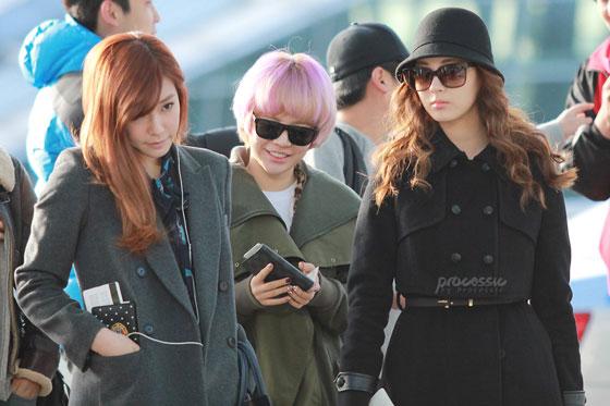 Girls Generation Korean Incheon Airport