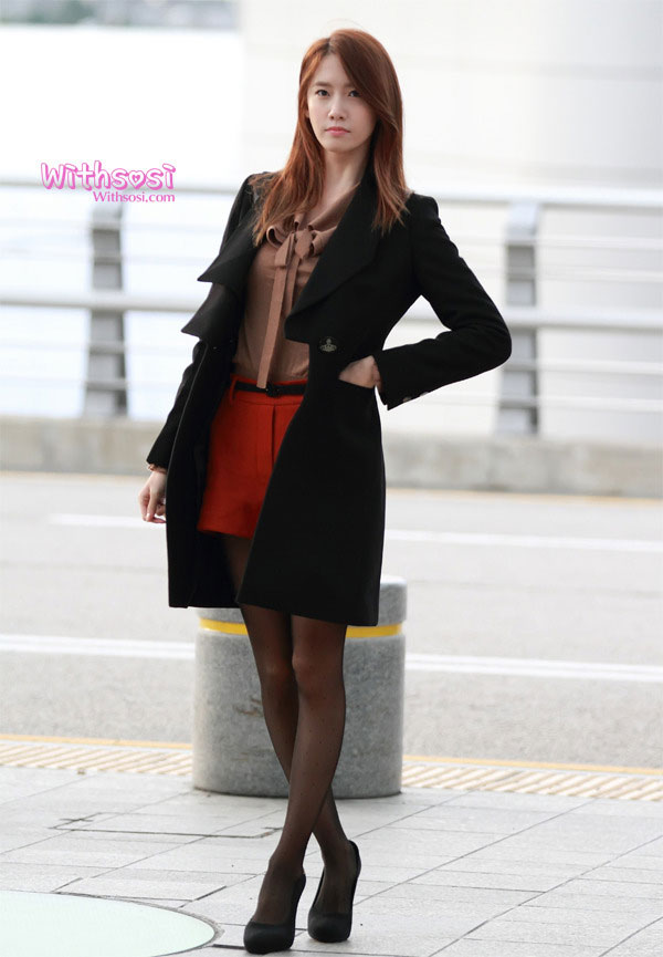 Yoona Incheon Airport to Hong Kong | SNSD Pics