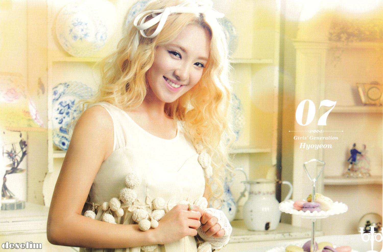 SNSD hyoyeon 2013 calendar