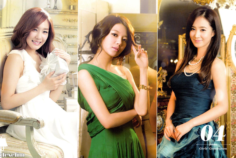 Tiffany Sooyoung Yuri 2013 calendar