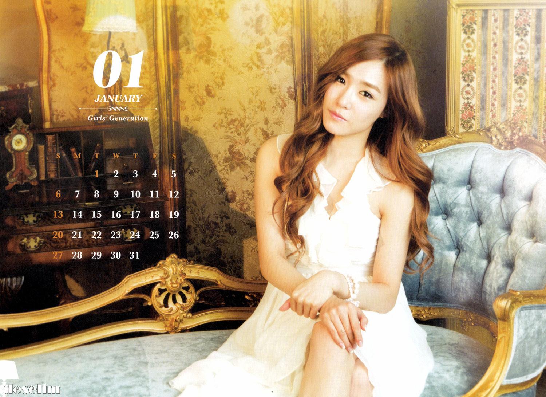 SNSD january 2013 calendar