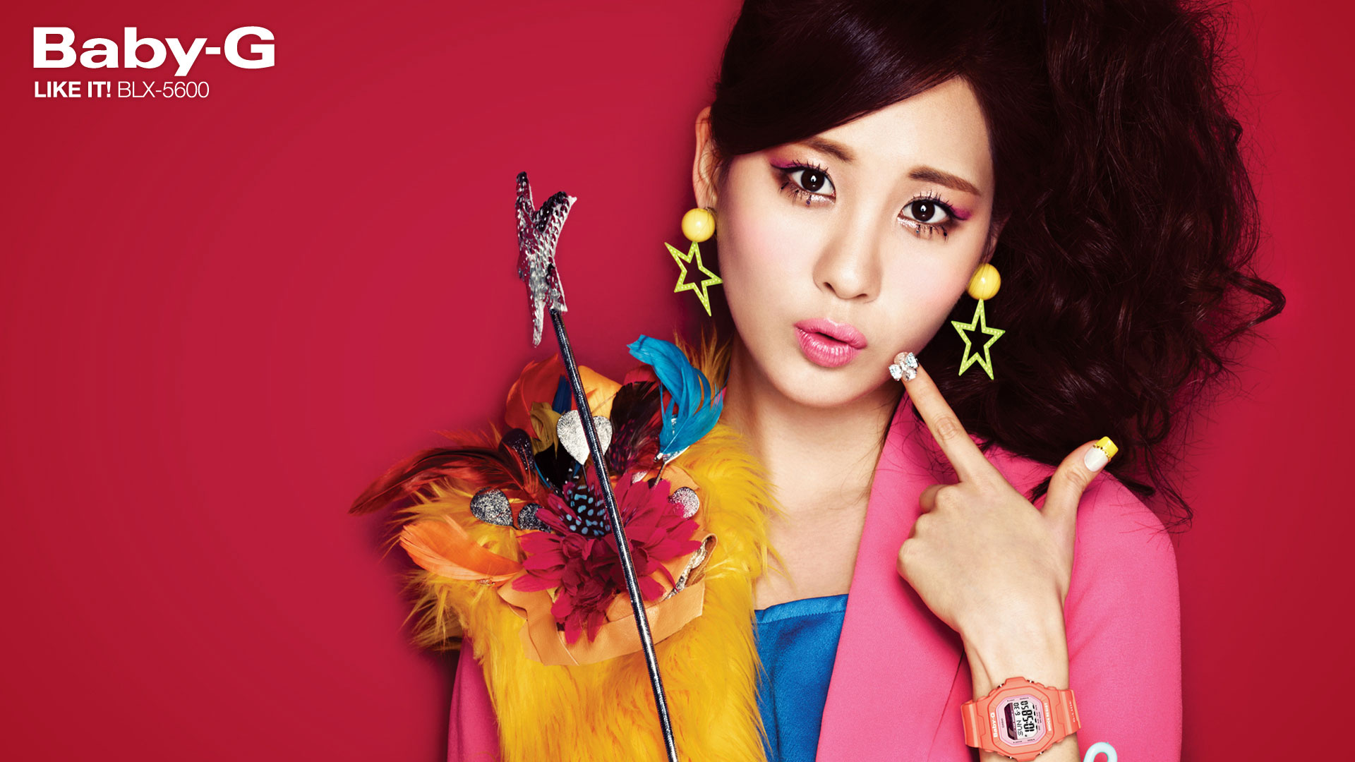 Snsd Seohyun Casio Baby G wallpaper