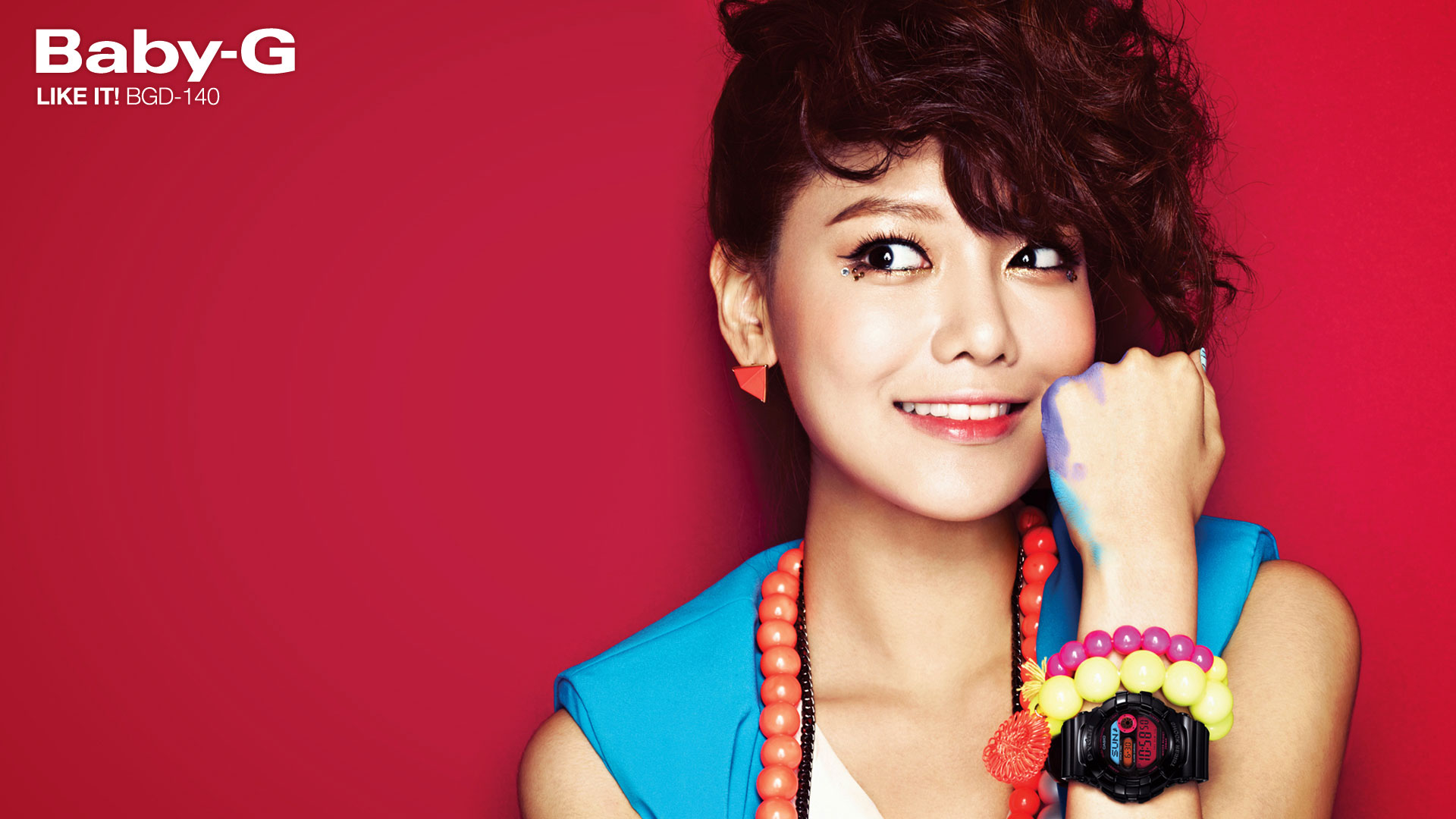 Snsd Sooyoung Casio Baby G wallpaper