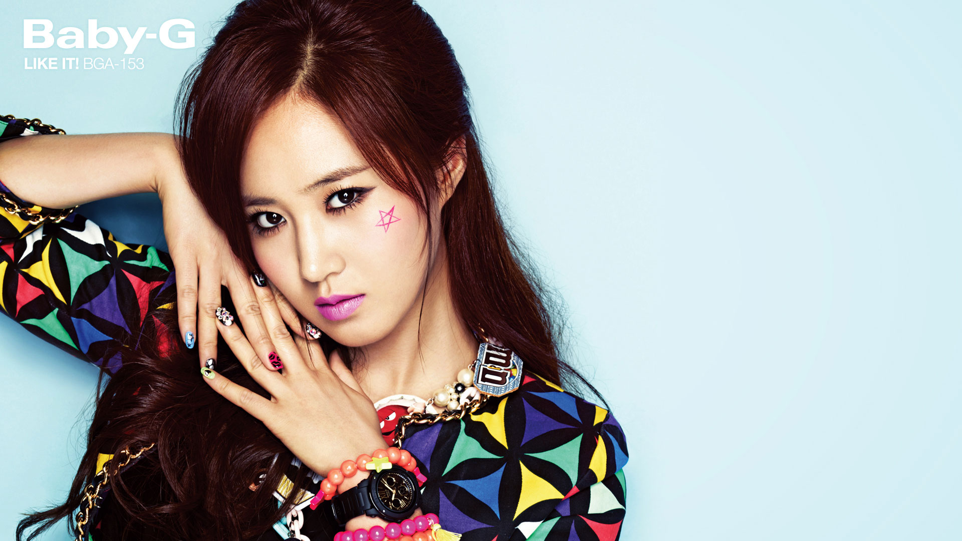 Snsd Yuri Casio Baby G wallpaper