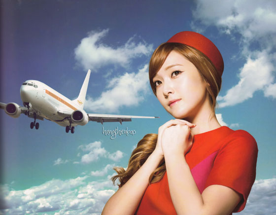 SNSD Jessica Girls Peace photobook