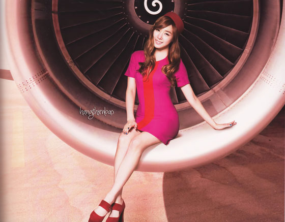 SNSD Tiffany Girls Peace photobook