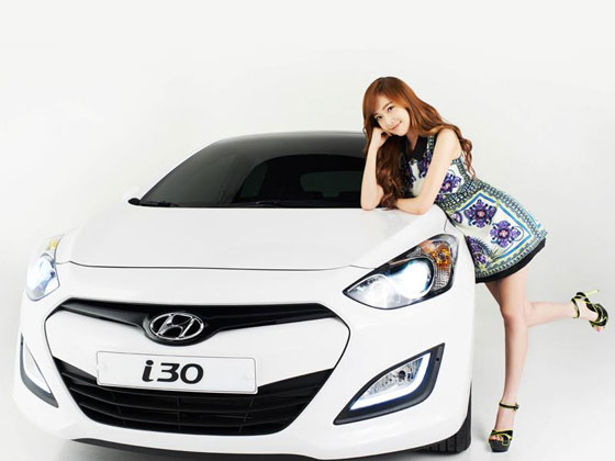 Snsd Jessica Hyundai i30