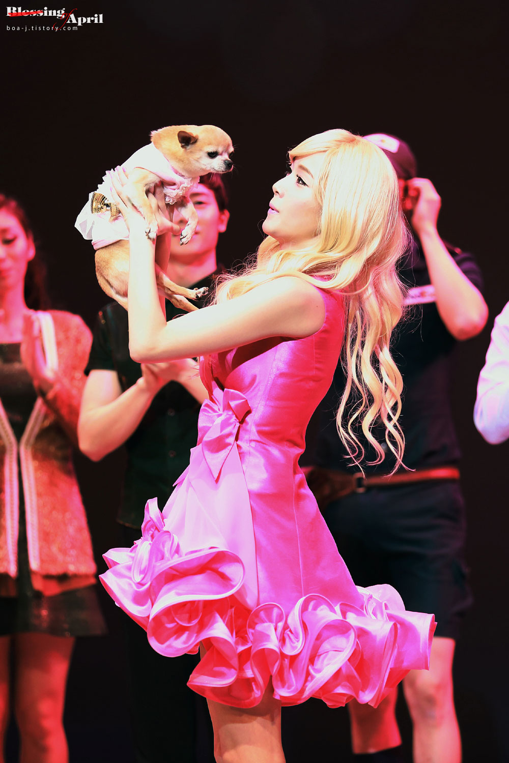 Snsd Jessica Legally Blonde Musical 2013