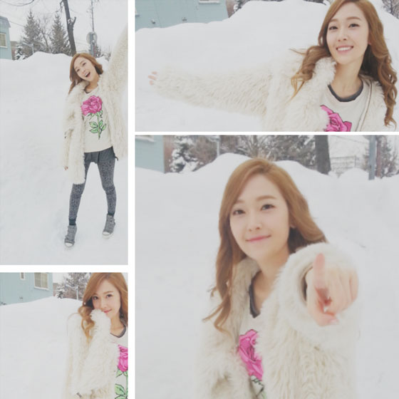 Snsd Jessica Sapporo snow