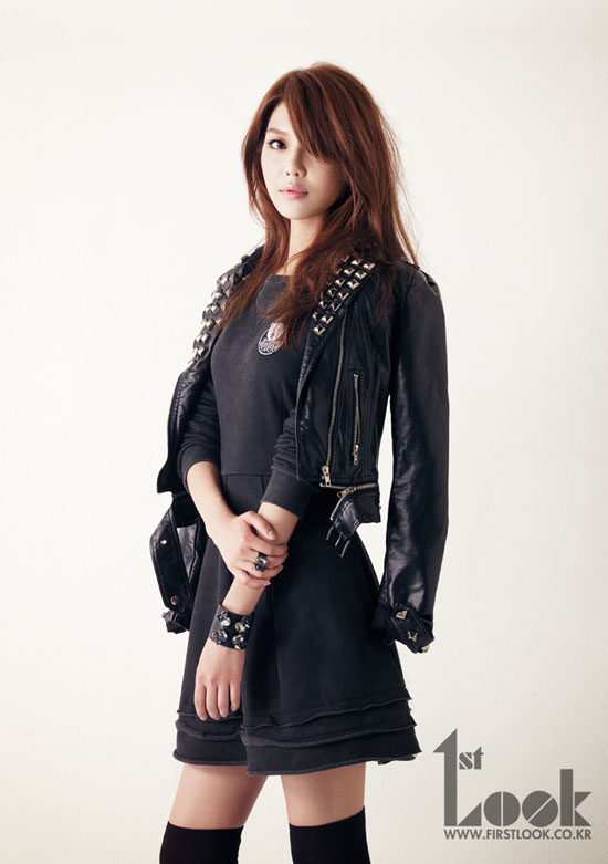 Snsd Sooyoung 1st Look Magazine