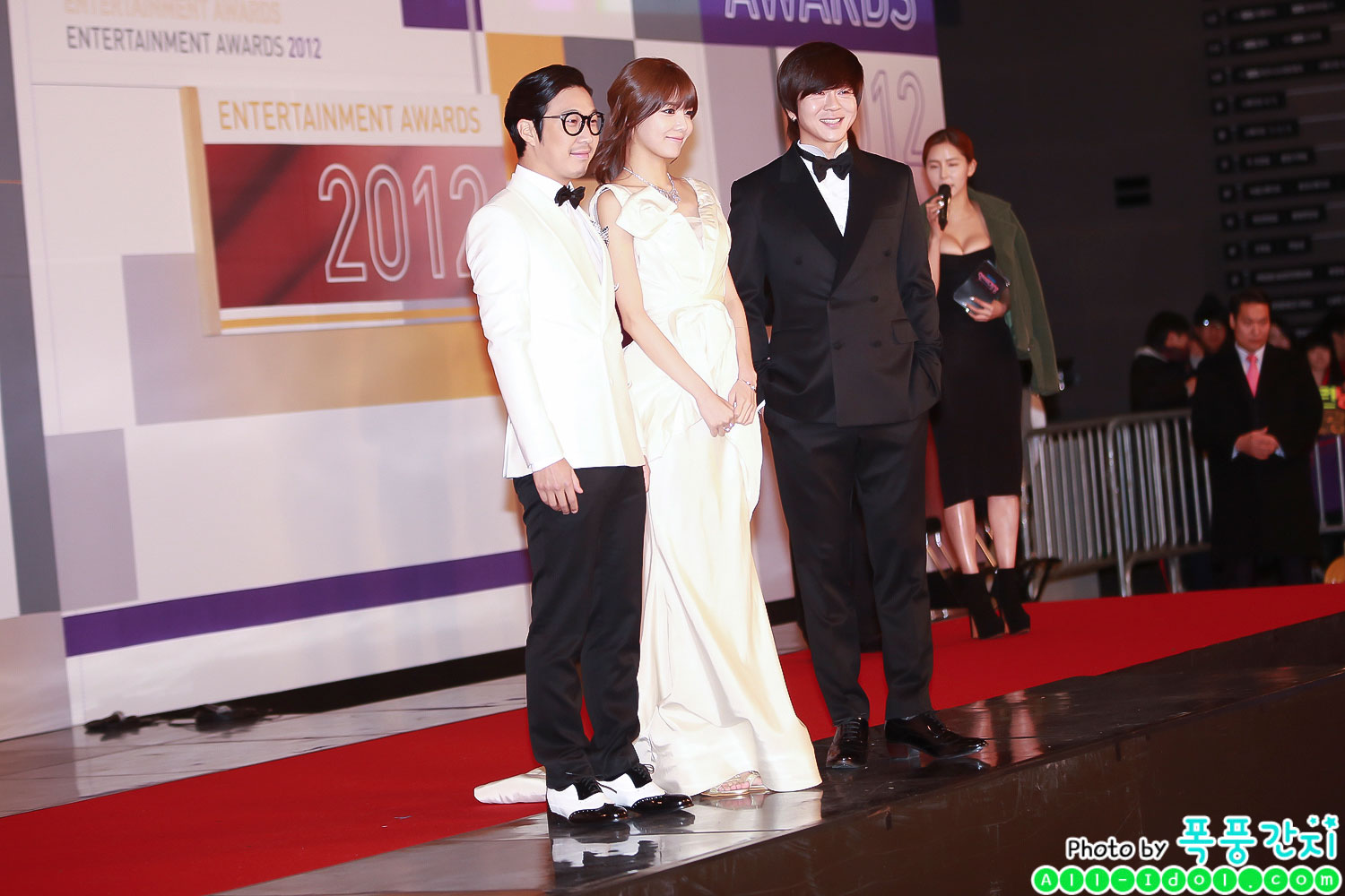 Sooyoung @ SBS Entertainment Awards 2012