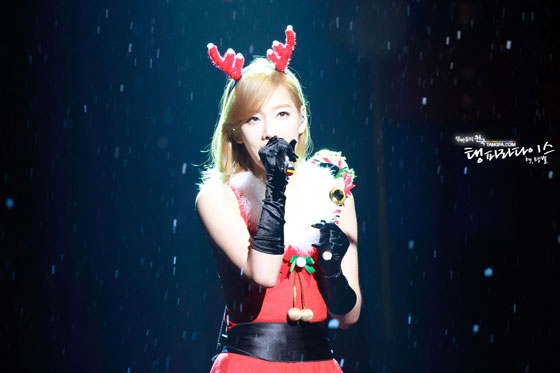 SNSD Taeyeon MBC Christmas Special
