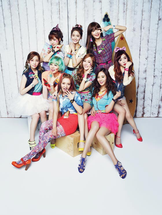 SNSD Kiss Me Baby G Best of 2013