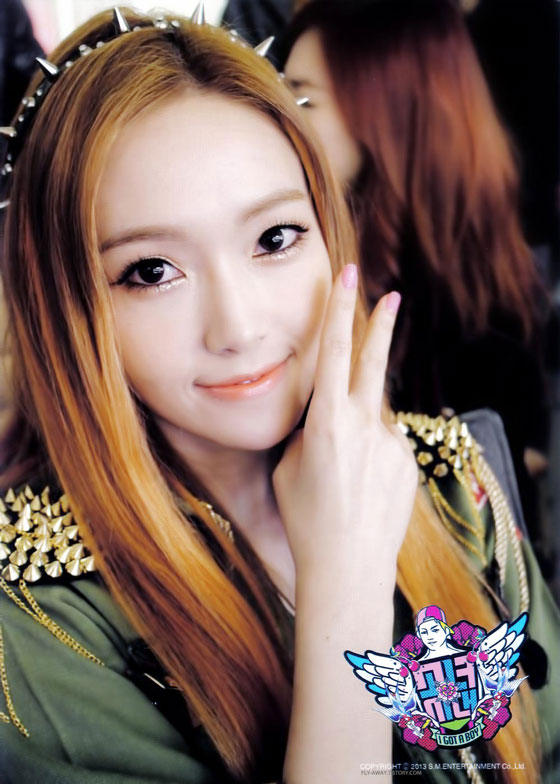 SNSD Jessica I Got A Boy photo card
