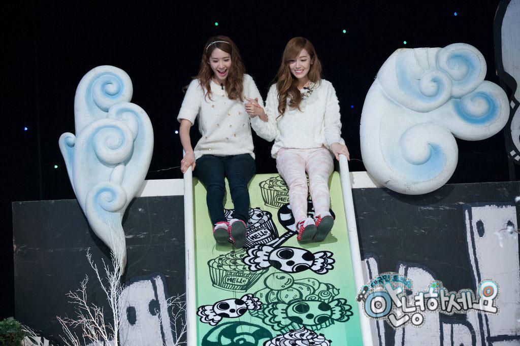 Yoona Jessica KBS Hello Concelor