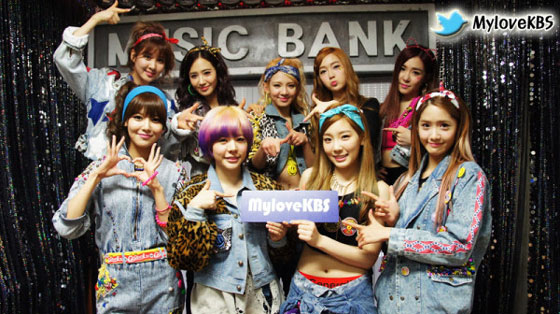 SNSD KBS Music Bank