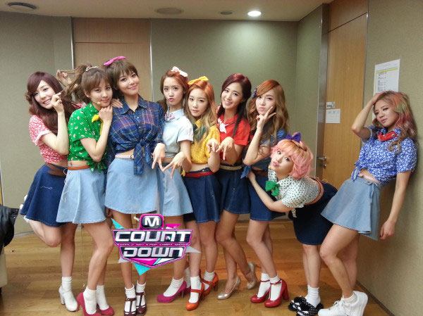 Snsd I Got A Boy Mnet comeback stage