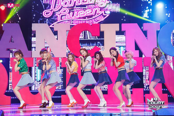 SNSD Dancing Queen Mnet Countdown