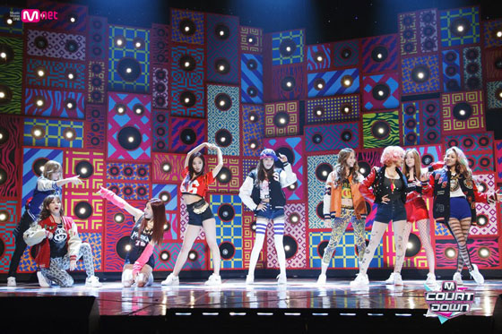 SNSD Got A Boy Mnet Countdown