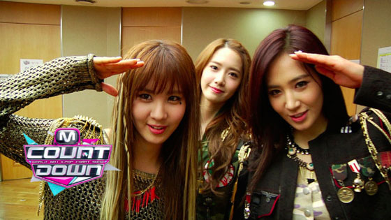 Seohyun Yoona Yuri Mnet Countdown