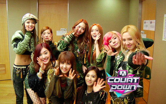 Girls Generation Mnet Countdown