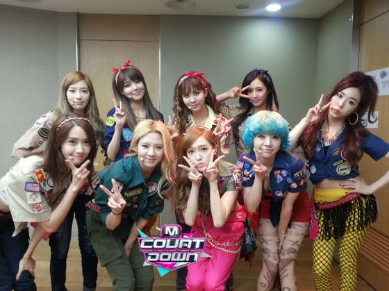 Girls Generation Mnet Countdown January 17 2013