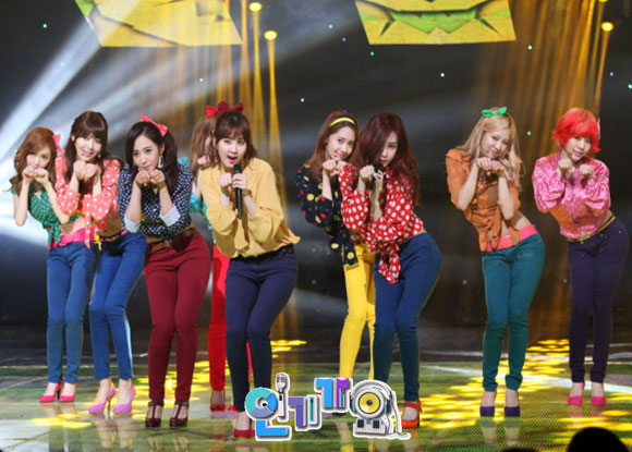 Girls Generation Inkigayo Dancing Queen