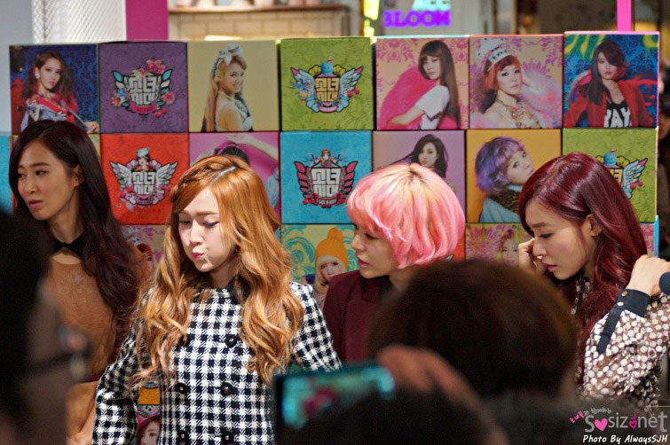Girls Generation SMTown pop up store