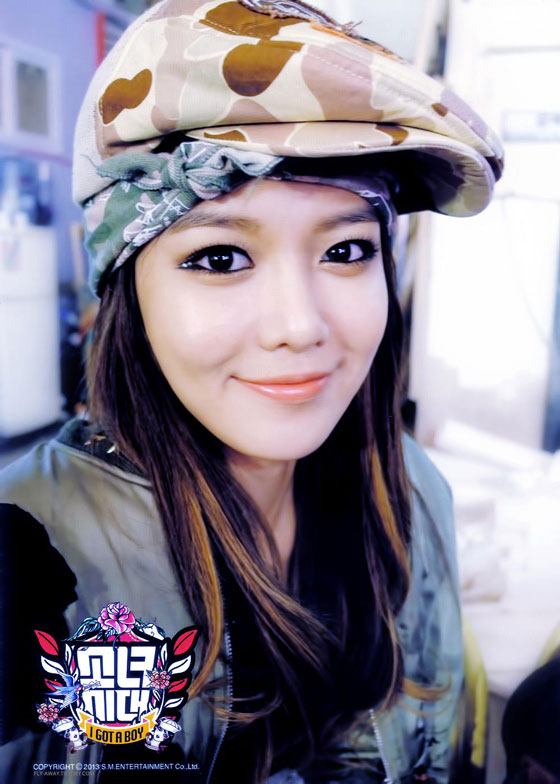 SNSD Sooyoung I Got A Boy photo card