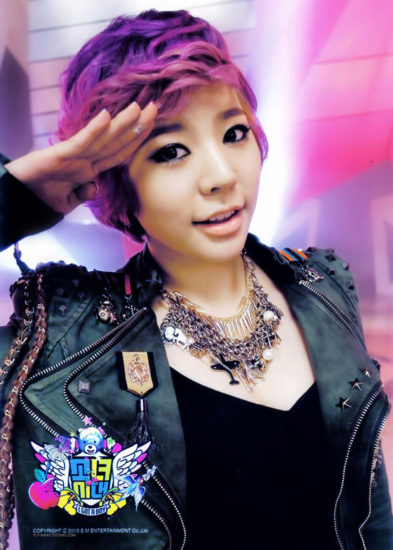 SNSD Sunny I Got A Boy photo card