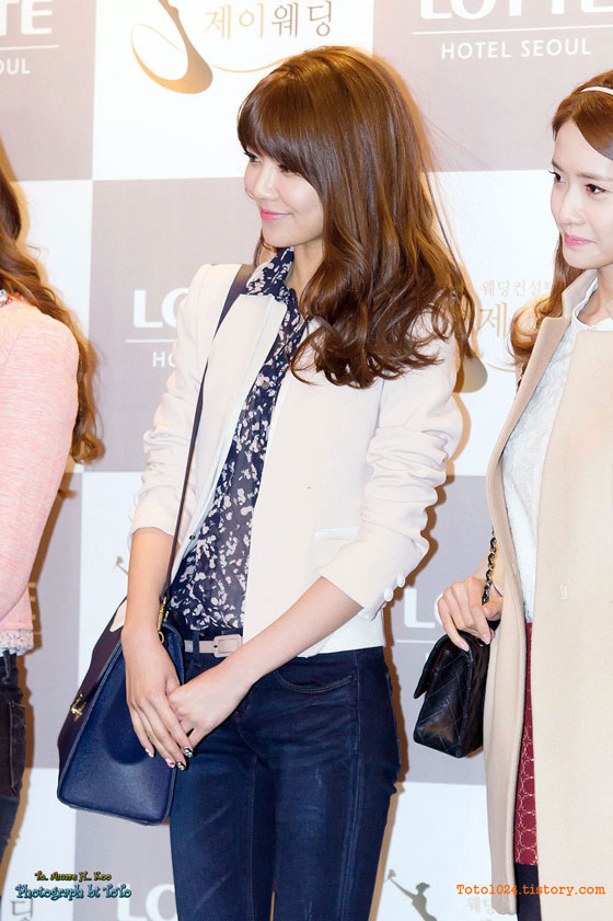 Snsd Sooyoung at Wonder Girls Sunye wedding