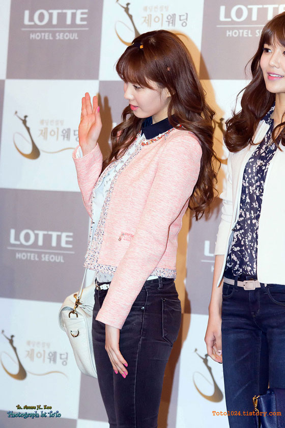 Snsd Seohyun at Wonder Girls Sunye wedding