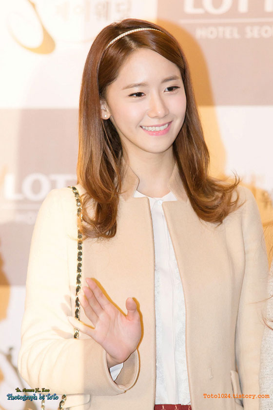 Snsd Yoona at Wonder Girls Sunye wedding