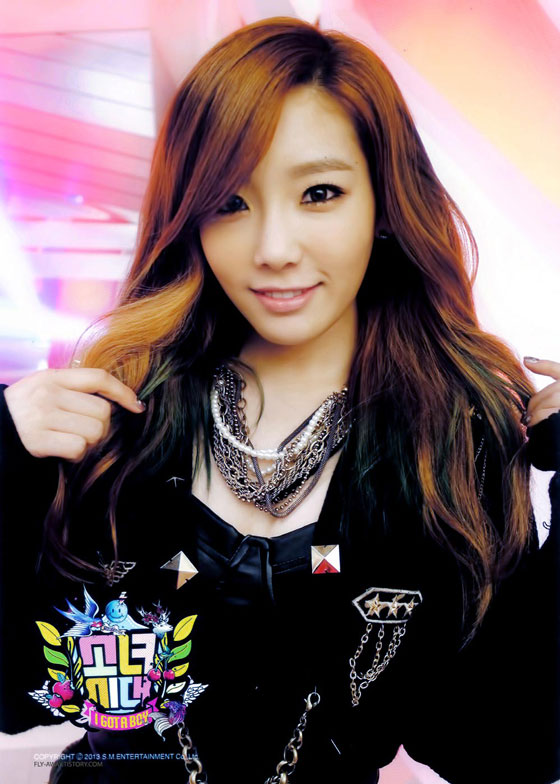 SNSD Taeyeon I Got A Boy photo card