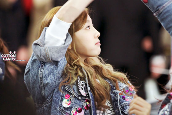 Snsd Taeyeon IGAB fan signing event