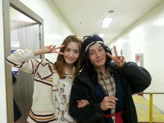 Snsd Yoona Flower Beggar Gag Concert