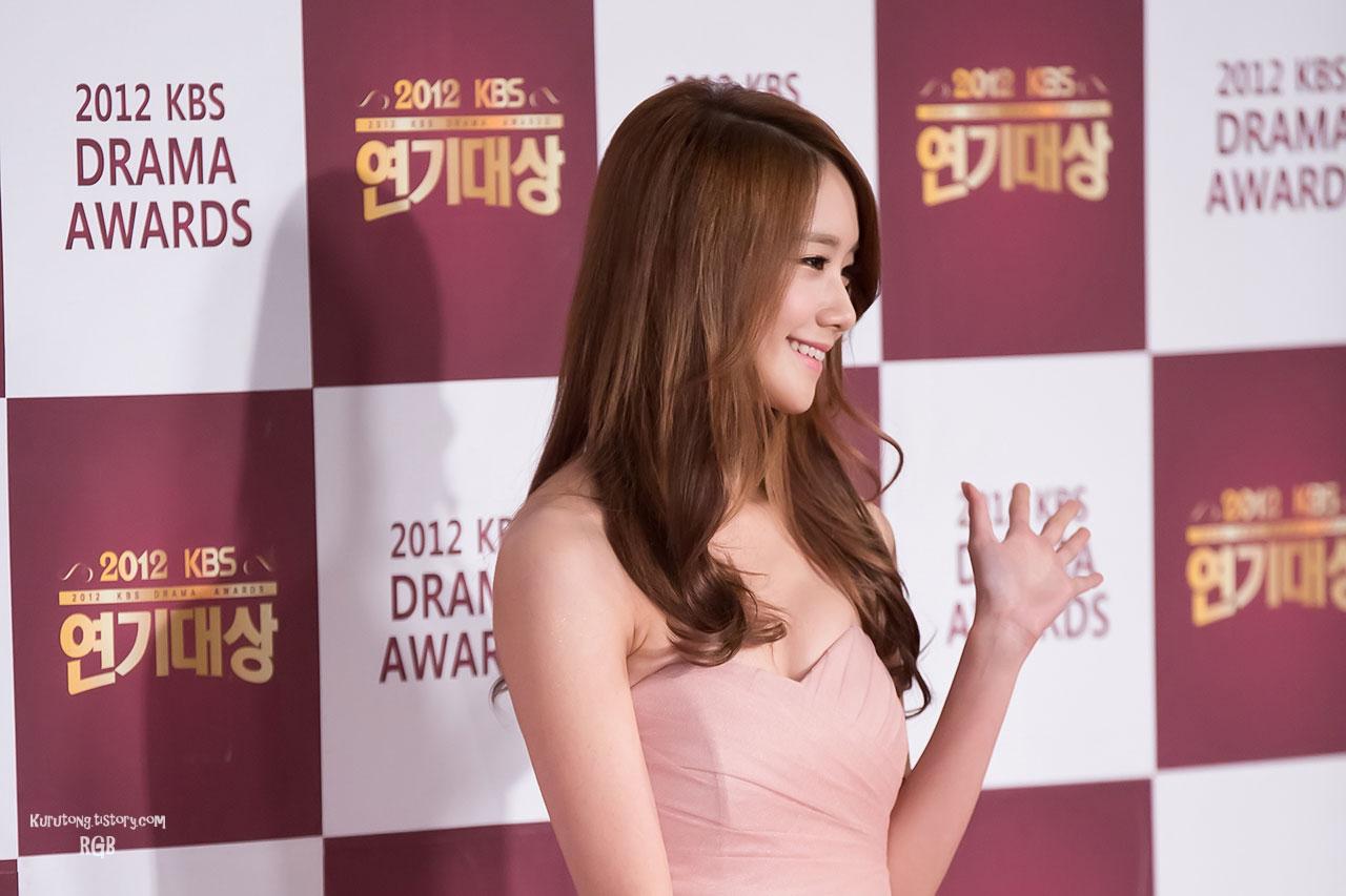 Snsd Yoona KBS Drama Awards 2012