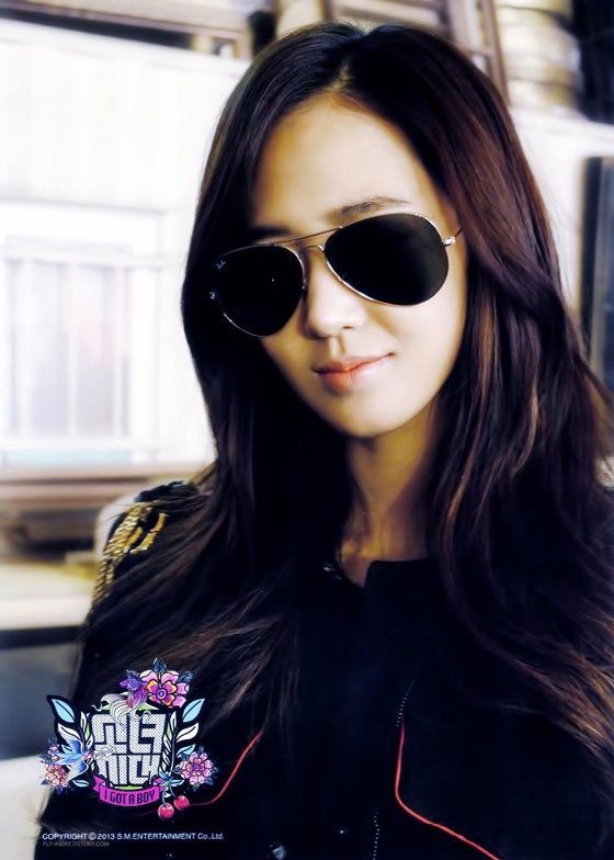 SNSD Yuri I Got A Boy photo card
