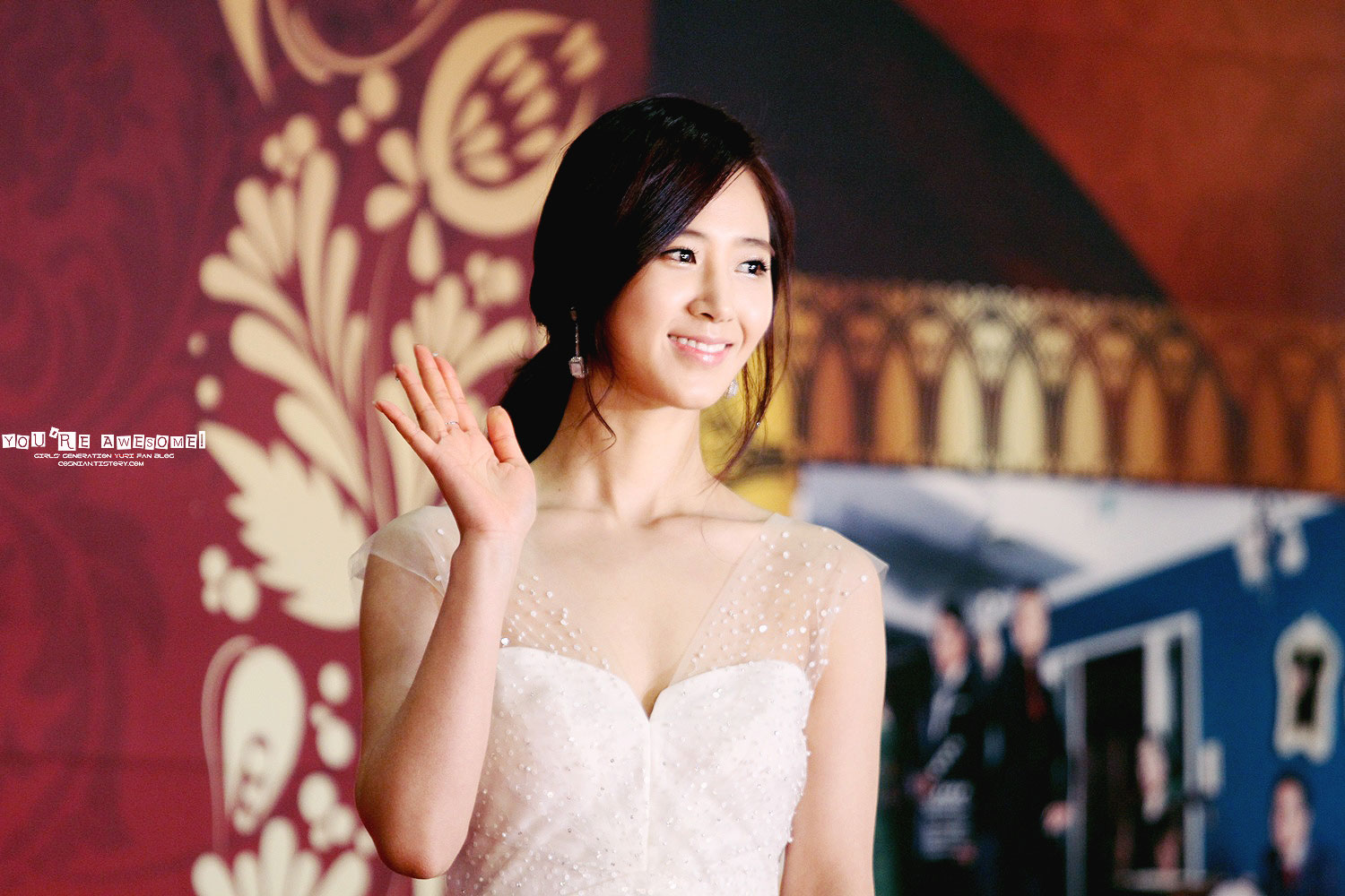 Snsd Yuri SBS Drama Awards 2012