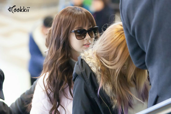 Snsd Seohyun Gimpo Airport fashion