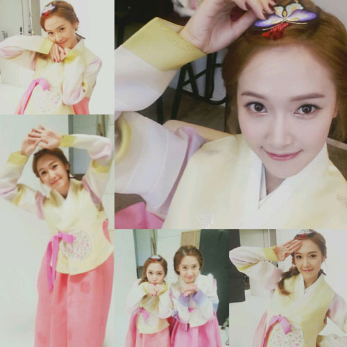 Snsd Jessica Korean New Year selca