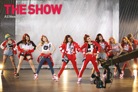 Snsd IGAB MTV The Show