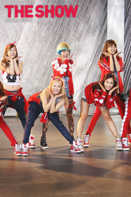 Girls Generation MTV The Show