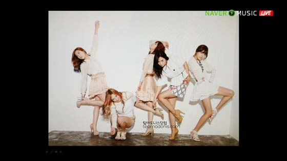 SNSD Naver Concert funny picture