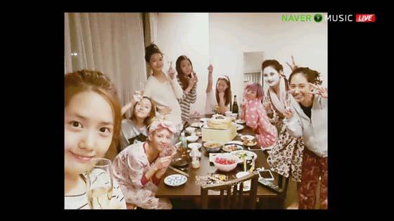 SNSD Naver Concert dorm picture