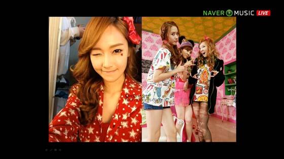 SNSD Naver Concert IGAB BTS