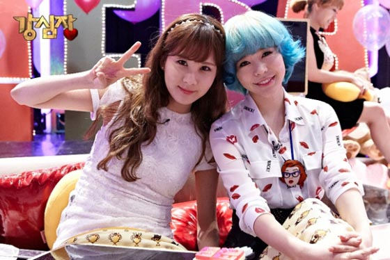 Snsd Seohyun Sunny SBS Strong Heart