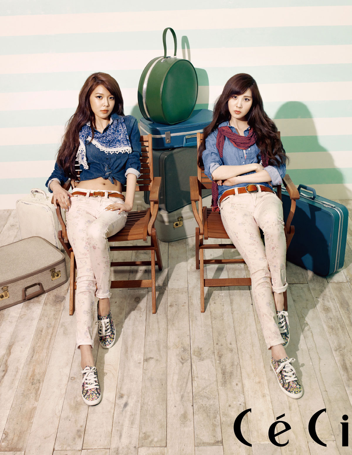 Seohyun & Sooyoung Tommy Hilfiger new muse