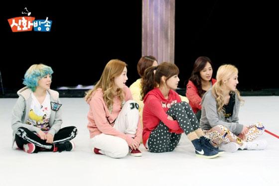 Snsd members JTBC Shinhwa Broadcast