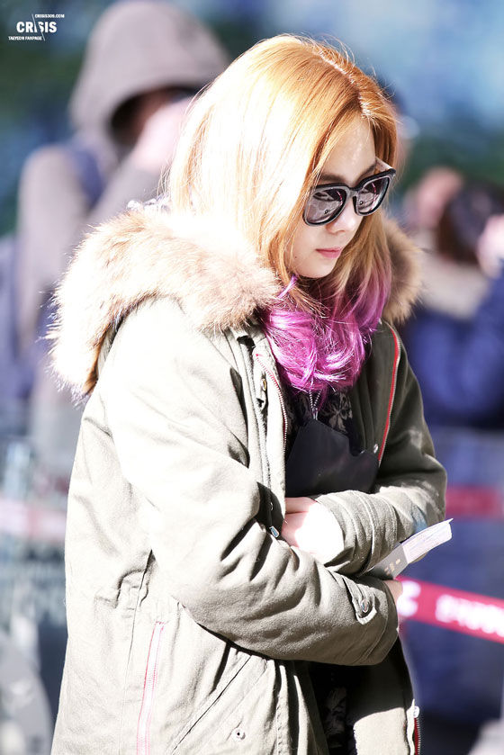 Snsd Taeyeon Gimpo Airport fashion